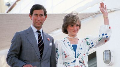The Prince and Princess of Wales on honeymoon, 1981