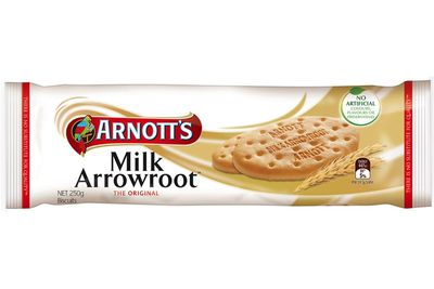 3 Milk Arrowroot biscuits are 100 calories