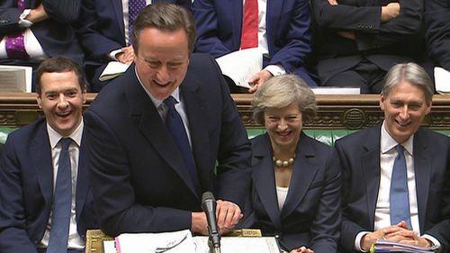 David Cameron gives jovial final speech in UK Parliament