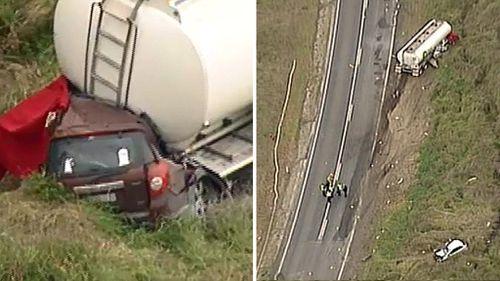 BP recalls trucks nationwide after horrific crash kills three in Victoria