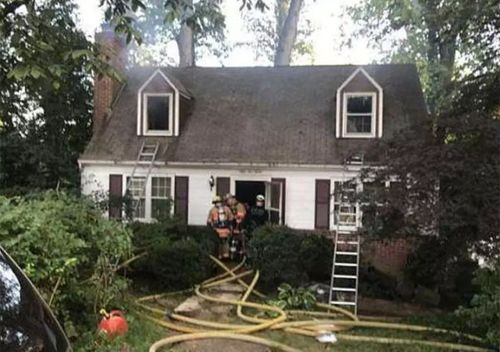 Askia Khafra was found dead inside Beckwitt's burned out Bethesda home (Montgomery County Court)