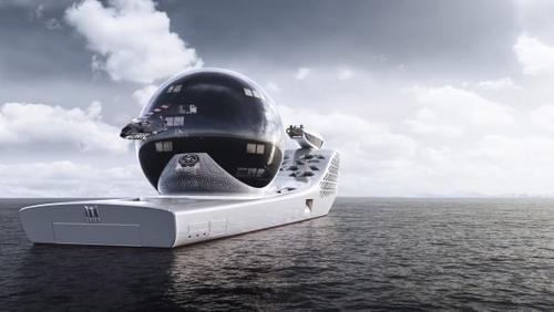 The Earth 300 is designed to be an emissions-free vessel.