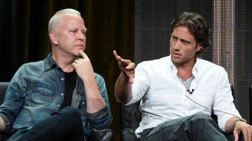 Glee and American Horror Story creators Ryan Murphy and Brad Falchuk. (AAP)