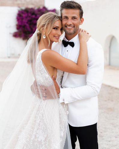 Anna Heinrich, Tim Robards, wedding, photo