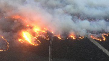 Rosedale bushfire Victoria