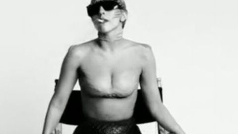 Lady Gaga has gills now