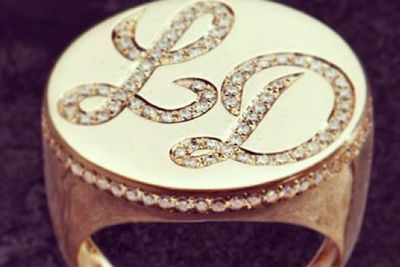 Lord Disick's bling ring!