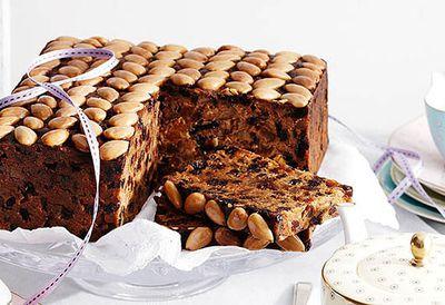 Grand Marnier fruit cake