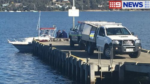 A diver has been killed by a shark off the coast of Maria Island, Tasmania. (9NEWS)