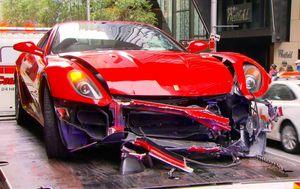 Sydney mortgage broker who crashed Ferrari spared jail