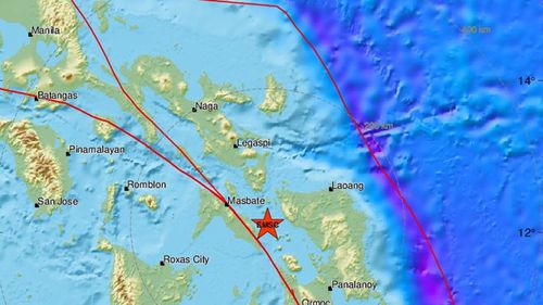 Magnitude 6.6 earthquake strikes in the Philippines
