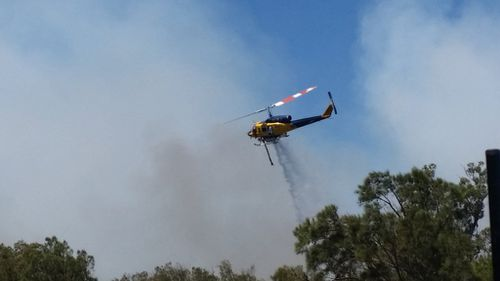Bushfire emergency warning issued for Forrest Highway and surrounds at Waroona, south of Perth