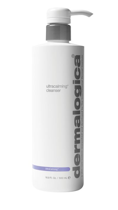 "<a href=""http://buy.dermalogica.com.au/ultracalming-cleanser-250ml.html"" target=""_blank"">Ultra-Calming Cleanser, $51, Dermalogica</a>"