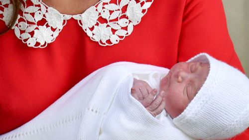 The baby prince is the Queen's sixth great-grandchild. (PA/AAP)