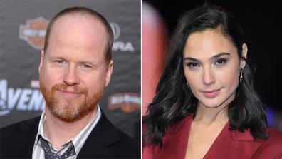 Joss Whedon and Gal Gadot.
