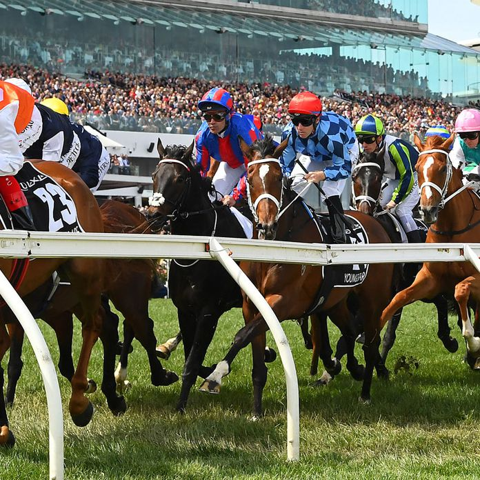 The ugly crash hidden beneath the shine of a brilliant Melbourne Cup Day