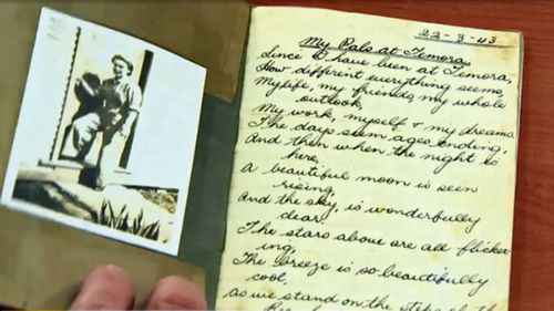 Margo Cooper's diary was found at a Woolworths store in Gordon, Sydney.