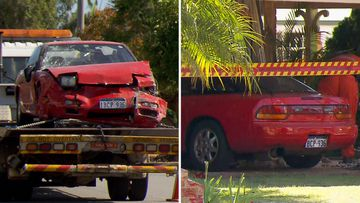 Western Australia car crash Kalamunda home