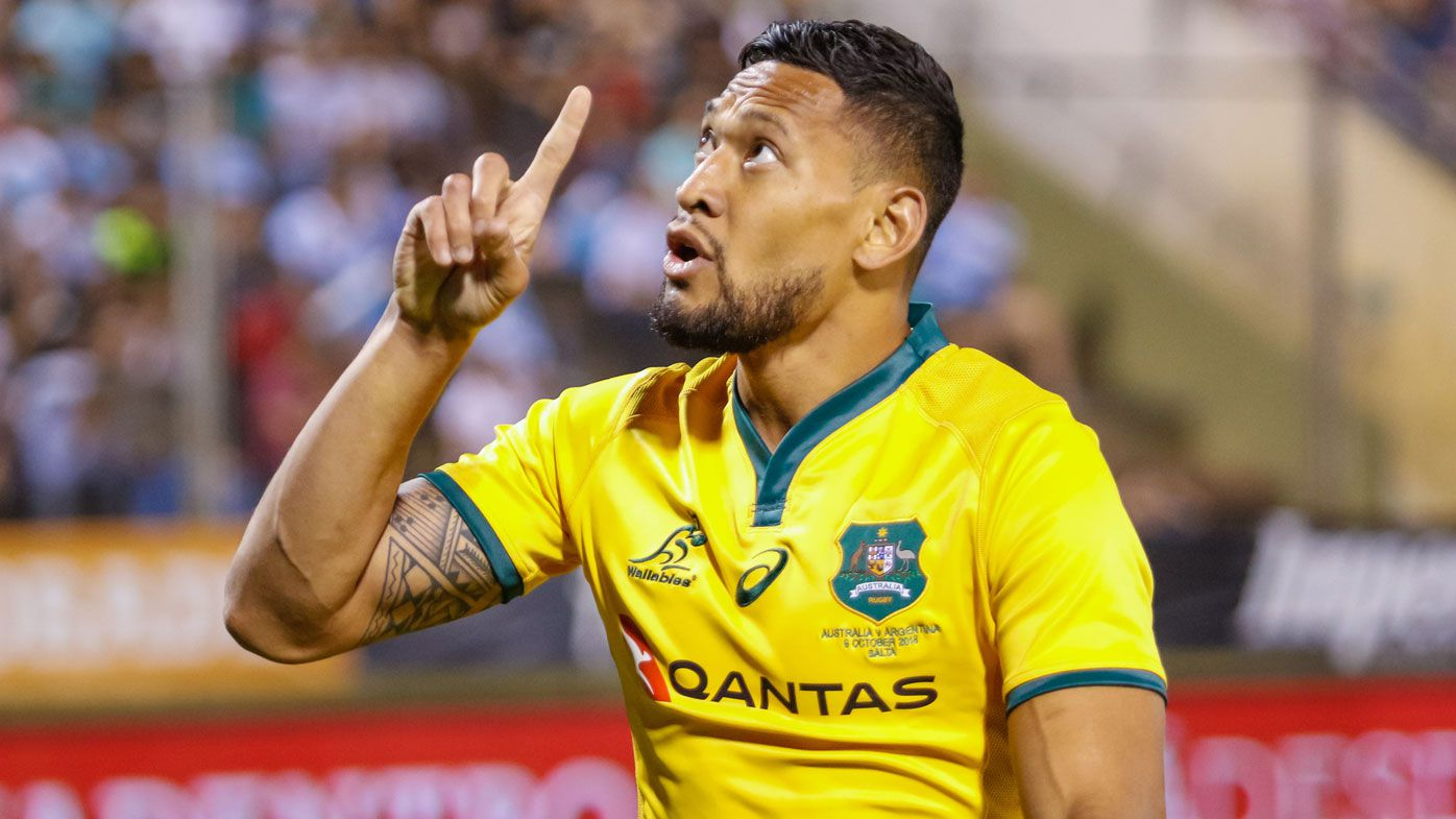 'Hell awaits you': Israel Folau involved in another social media controversy