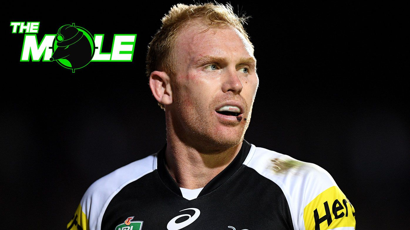 Injured Penrith Panthers skipper Peter Wallace texts teammates of retirement effective immediately