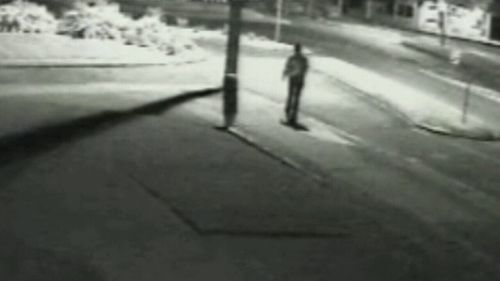 This last known footage of Shandee shows her walking home just after midnight.