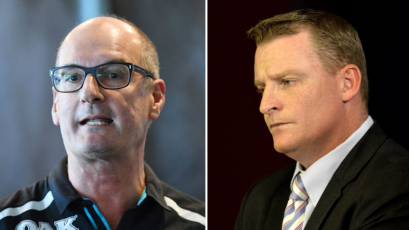 'Do your job': Port Adelaide president David Koch calls out assistant coach Michael Voss' Carlton interview