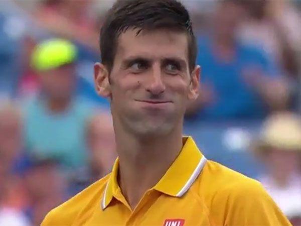 Frenchman stuns Djokovic with 'tweener'