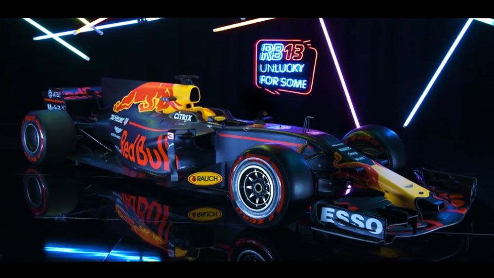 Red Bull unveils 'cool' car to tackle Mercedes