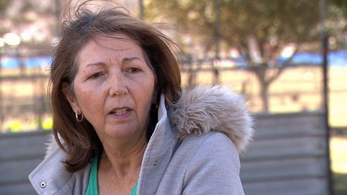 Box Hill resident Lynn Iemma owns five acres that backs right onto a development. She doesn't understand why her home hasn't been rezoned. Picture: 9NEWS