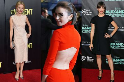 <br/><br/>Lily Collins, Naomi Watts, Jennifer Garner and Kristen Stewart are just some of the many celebs to get glammed up for the world premieres of <i>Love, Rosie</i>, <i>St Vincent</i>, <i>Camp X Ray</I> and <i>Effie Gray</i>.<br/><br/>Scroll through to check out all the snaps...<br/><br/>Images: AFP/Getty