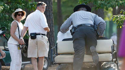 NBC's golf cart driver arrested