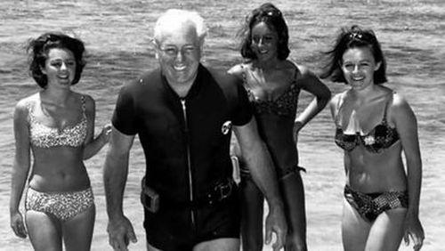Holt was a keen swimmer. (AAP)