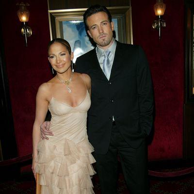 Jennifer Lopez and Ben Affleck: December 2002