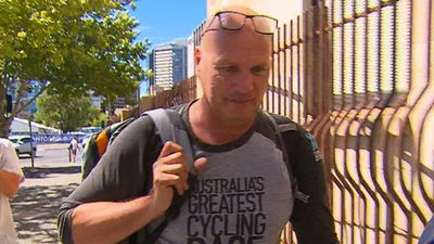 Dutch photographer fined over Tour Down Under crash that injured police officer