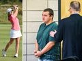 Star amateur golfer 'stabbed and killed by homeless man'