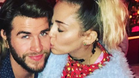 Miley Cyrus Liam Hemsworth Instagram.