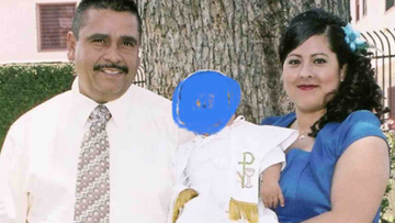 Humberto Ruelas-Rivas (left) died on Sunday. Hours later his wife had also passed away.