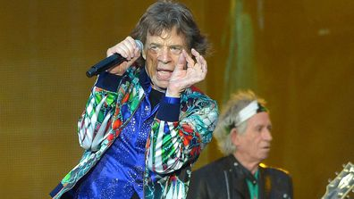 Sir Mick Jagger of The Rolling Stones.