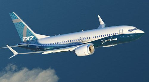 The Boeing 737 MAX8 aircraft is one of the plane maker's newest and most advanced planes.