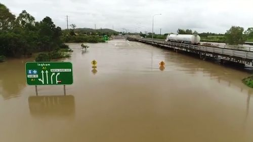 Queenslanders in the state's central and north-west region are now bunkering down for the possibility of the biggest flooding event since 1974 (Supplied).