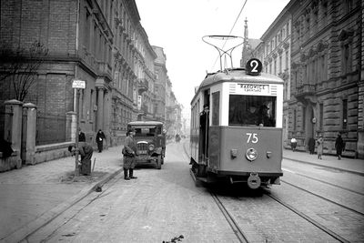 Karmelicka street in Kraków, 1939