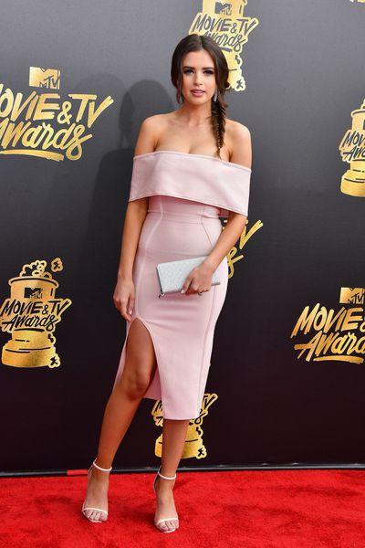 Jess Bauer atthe 2017 MTV Movie & TV Awards in Los Angeles