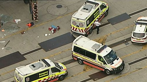 Two ambulance crews and a specialist medical trauma unit rushed to her aid. (9NEWS)