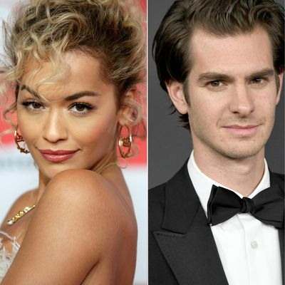 Rita Ora and Andrew Garfield