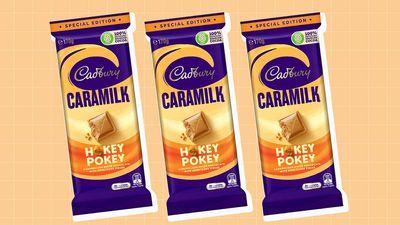 Cadbury Caramilk Hokey Pokey hits Aussie shelves