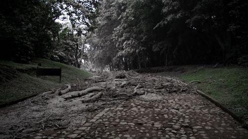 A view of the damage in the village El Porvenir. (AAP)
