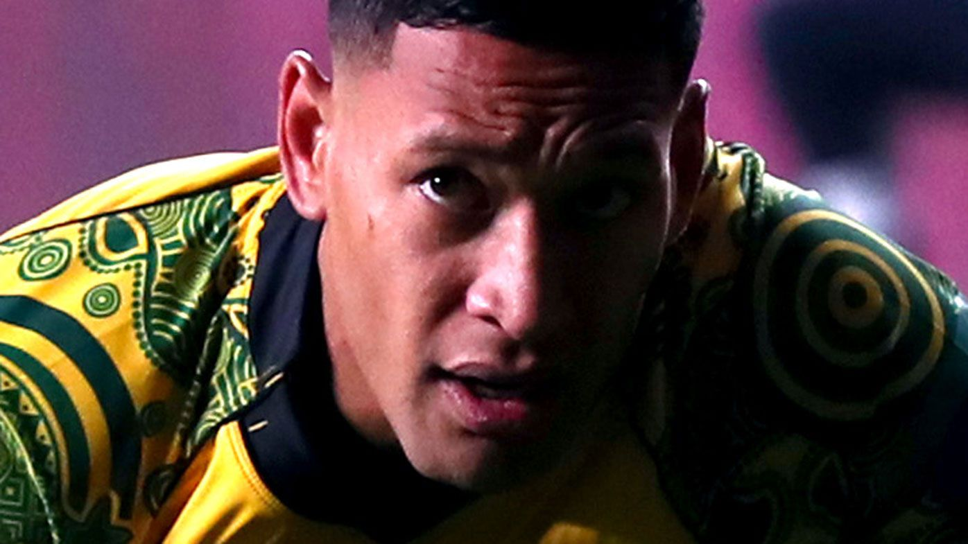 Israel Folau teammates claim gagging, one boycotted Wallabies camp, report reveals