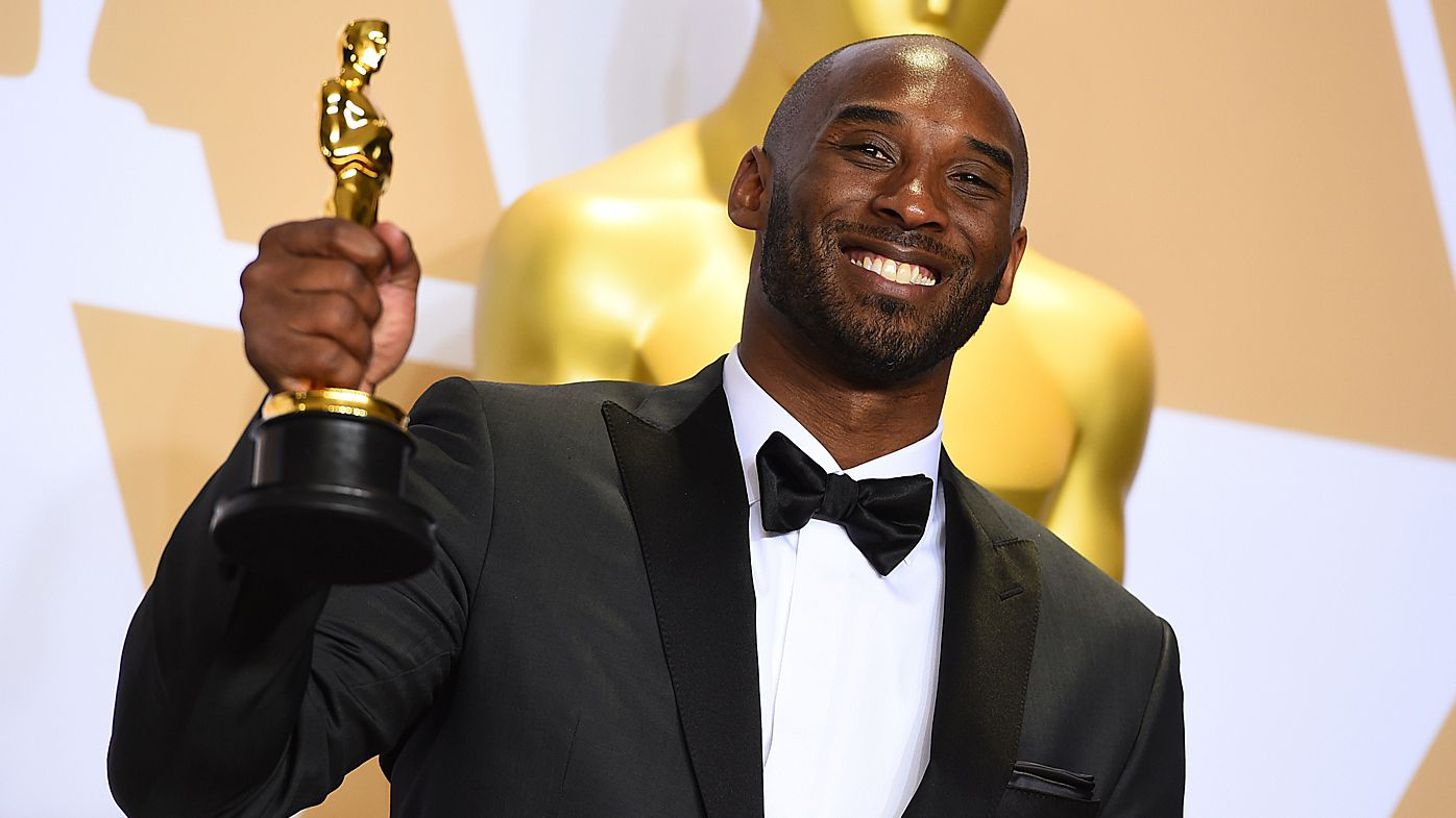 Kobe Bryant wins Academy Award for best animated short film 'Dear Basketball'