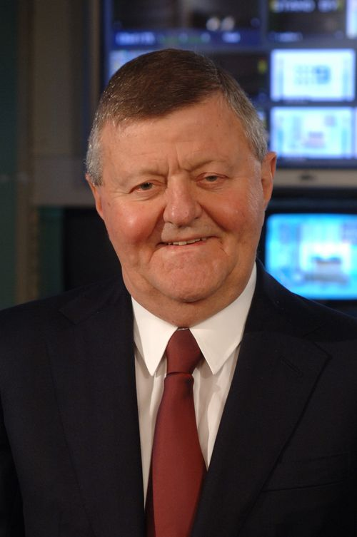 Sam Chisholm has died aged 78 surrounded by family in Sydney. Picture: Nine