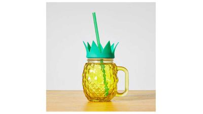"<p>Just a bit of fun for a fruity and fruit loving dad, serve it up filled with his favourite drink and he'll be a happy man. A cheeky one for the kids.</p> <p>- <a href=""https://www.target.com.au/p/tropicana-pineapple-mason-jar/57737263"" target=""_top"">Tropicana Pineapple Mason Jar</a>, $3 from Target</p>"